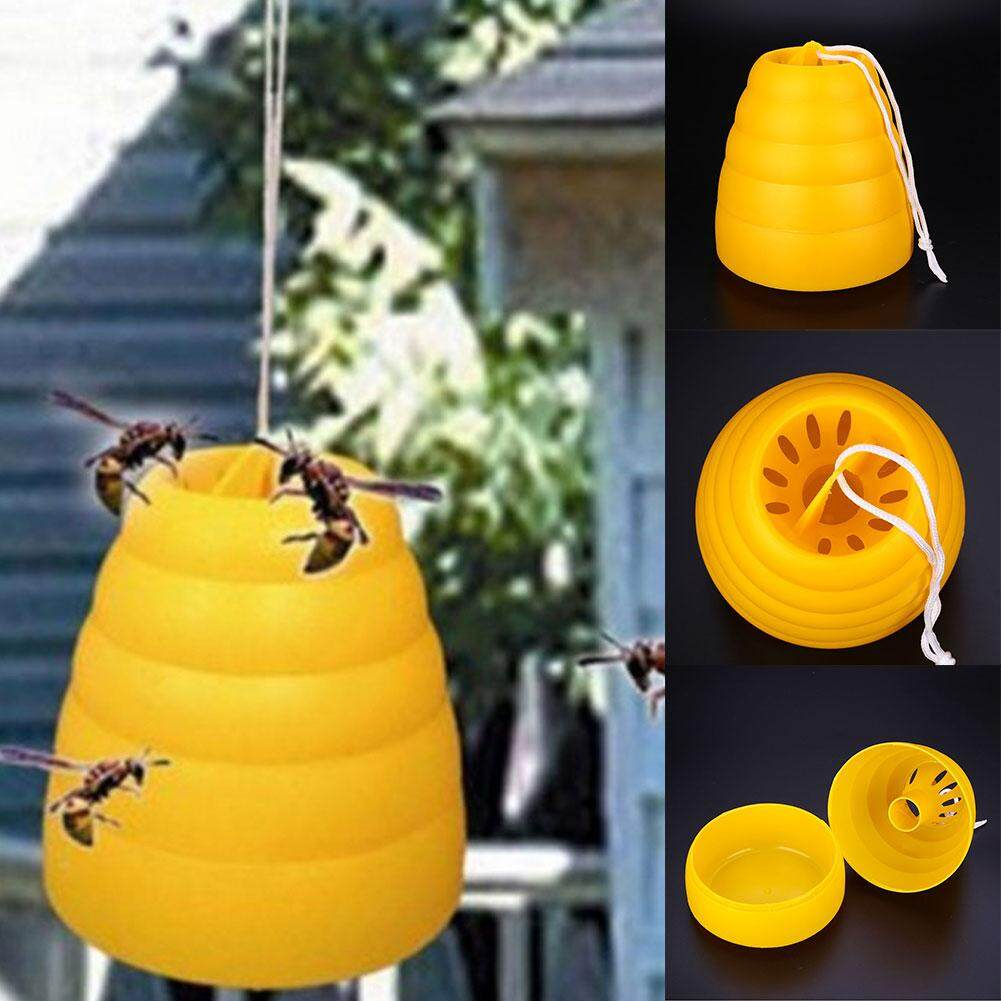 Hình ảnh Flying Hanging Wasp Trap Fly Flies Insect Bug Honey Pot Traps Poison Free