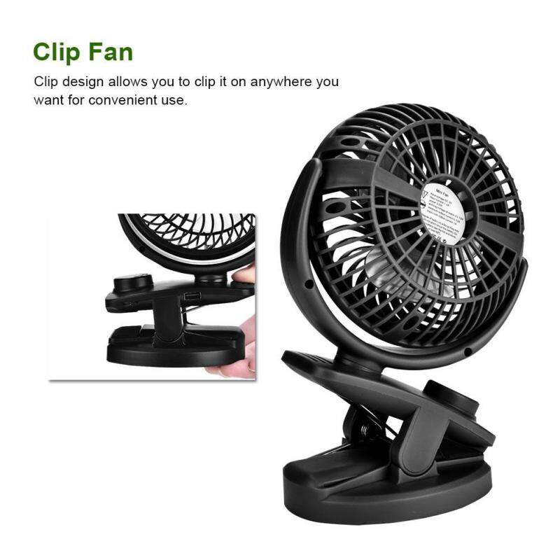 Bảng giá Justgogo Clip Cooling Fan Large Wind Force Clamp Fan Power Supply Dock USB Charging USB Clip Fan for Home Phong Vũ
