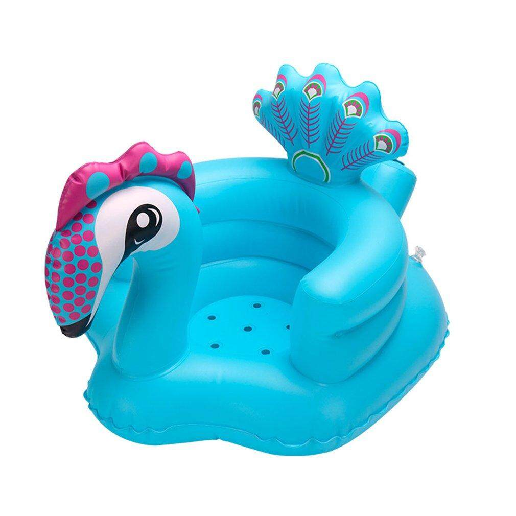 GOFT Baby Seat Plush Soft Baby Sofa Infant Peacock Learning To Sit Chair Cushion - intl