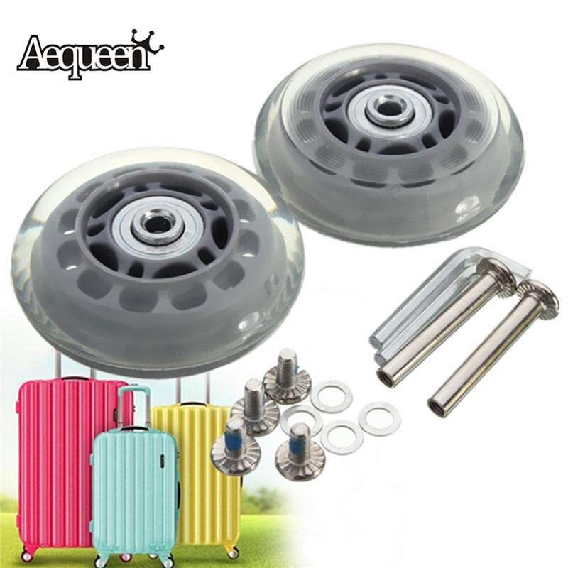 2 Sets Of Luggage Suitcase Replacement Wheels Repair Od 70 (2.76) Id 6 Axles 40 By Audew.