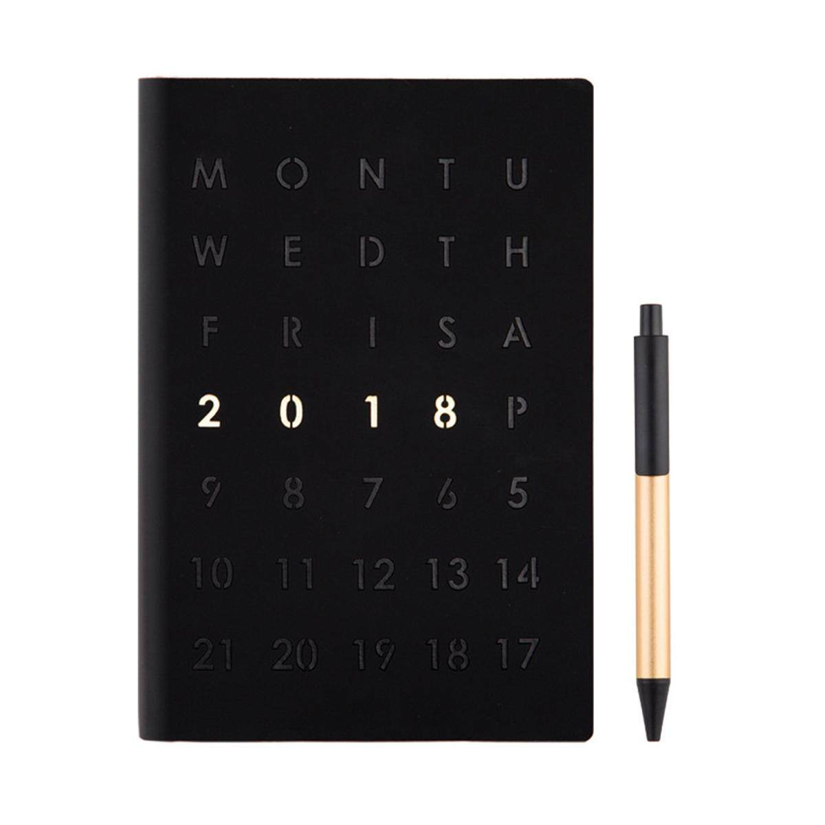Mua A5 2018 Diary Weekly Monthly Schedule Notebook Journal Planner Calendar Book Day