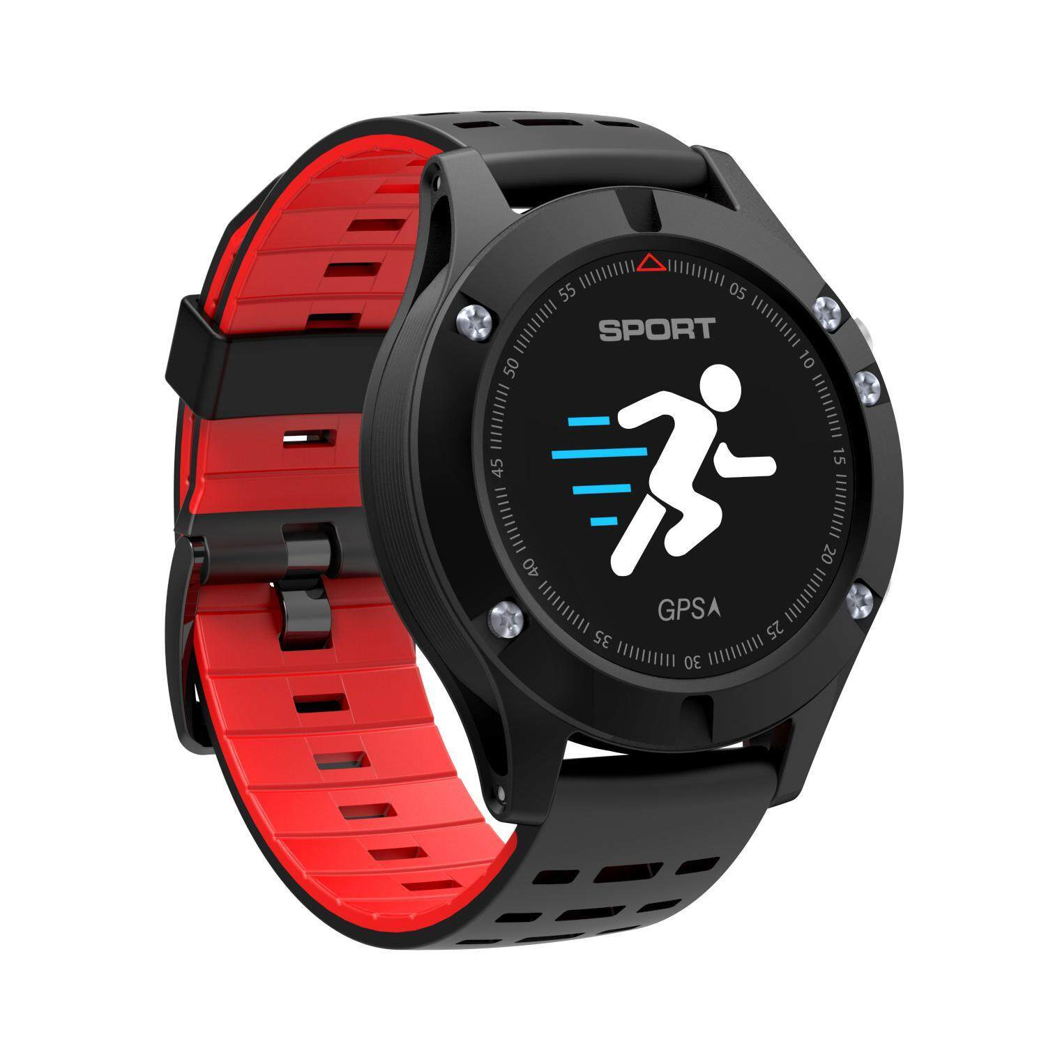 tongzhi 勿动GPS Positioning Multi-sport Mode Bluetooth Smart Watch Heart Rate Monitor Step Height Measurement of Ambient Temperature - intl