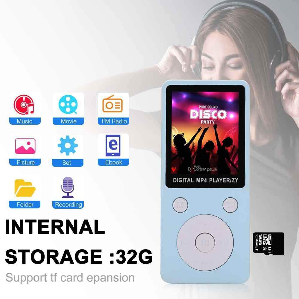 OrzBuy 100% Original English Version Ultrathin MP3/MP4 Player Can Play 8h With Earphone