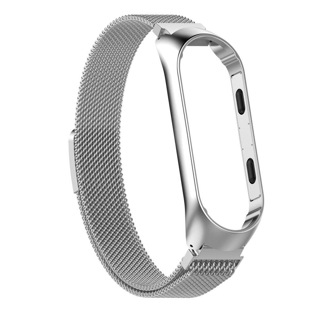 RYT Magnetic Milanese Stainless Steel Watch Band Luxury Wrist Strap For Xiaomi MiBand 3 Smart Bracelet