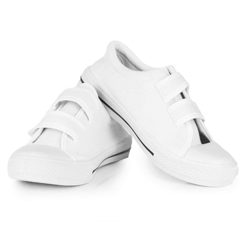 KM Children Velcro Strap School Shoe [M30770]