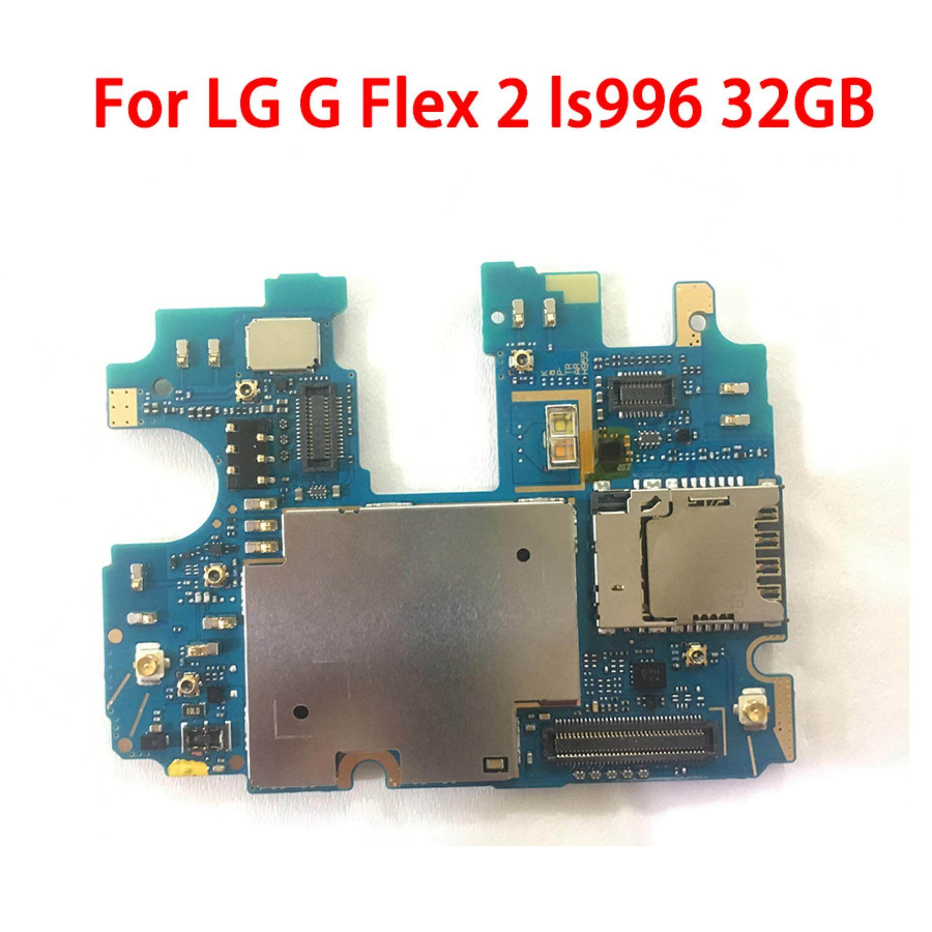For LG G Flex 2 ls996 32GB Original Unlocked Mobile Electronic panel mainboard Motherboard Circuits Cable