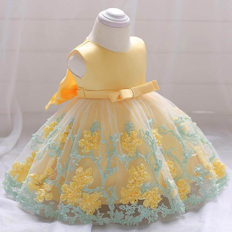f527d57c2 2018 Vintage Baby Girl Dress Baptism Dresses For Girls Birthday Party  Wedding Christening Baby Infant Clothing