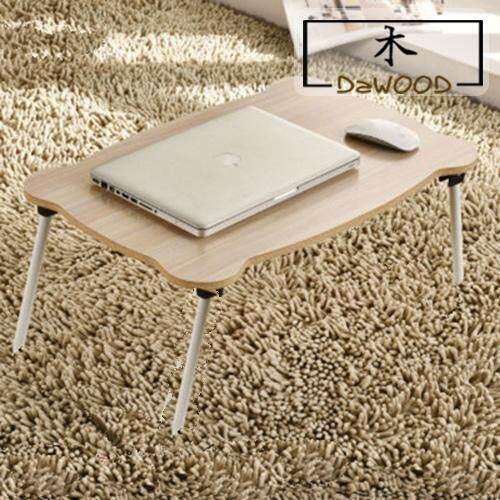 DaWood Creative Smart Multi Functional Bedside Bed Laptop Table Foldable Portable Desk