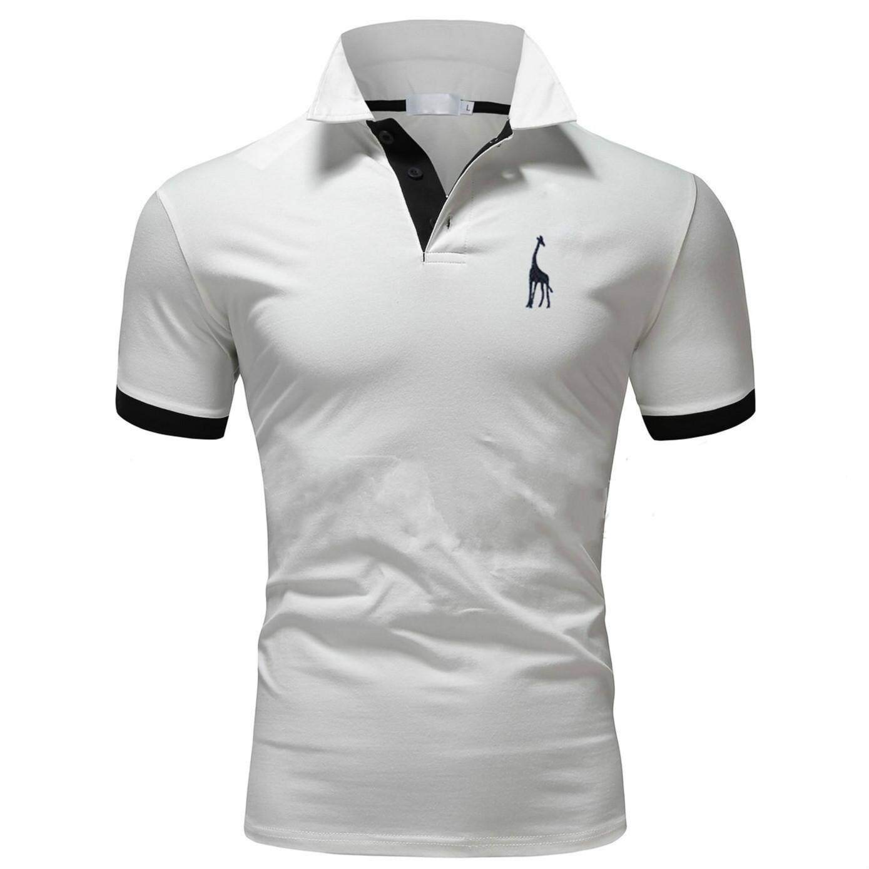 Buy Men Polo Shirts Clothing Kaos Polos Twotone Navy Blue
