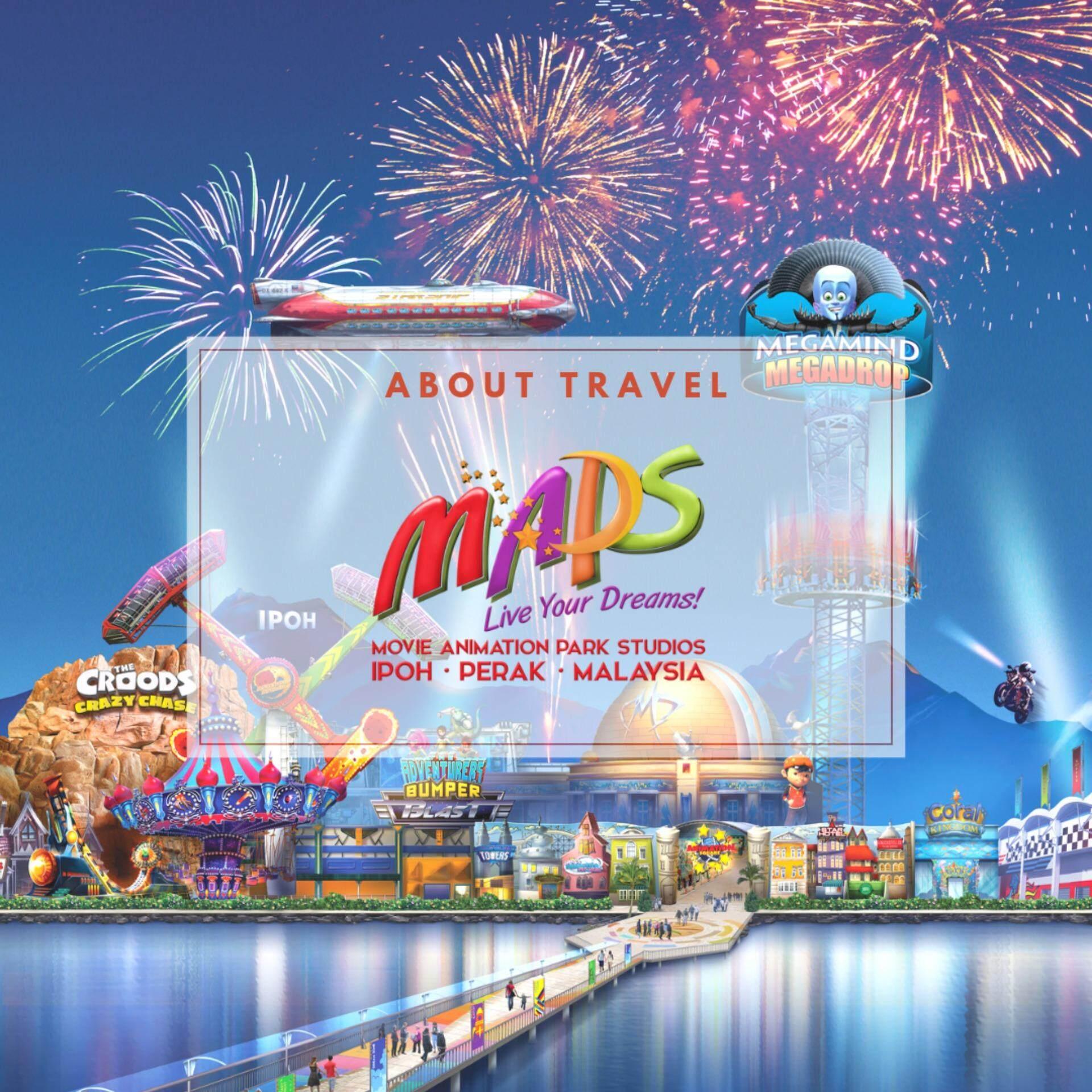Perak : MAPS Movie Animation Park Studio 1 Day Pass - Adult