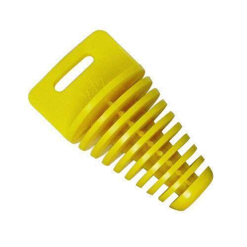Hiqueen Ukuran Besar Pipa Knalpot Stopper Karet untuk Cross-Country Motor Tahan Air Muffler Plug Warna: Kuning