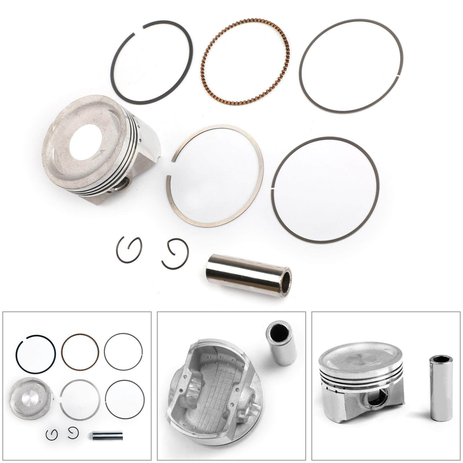 Areyourshop Piston Ring Kit +0 50mm Bore Size 58 00mm For Suzuki AN150  VECSTAR 1996-2000