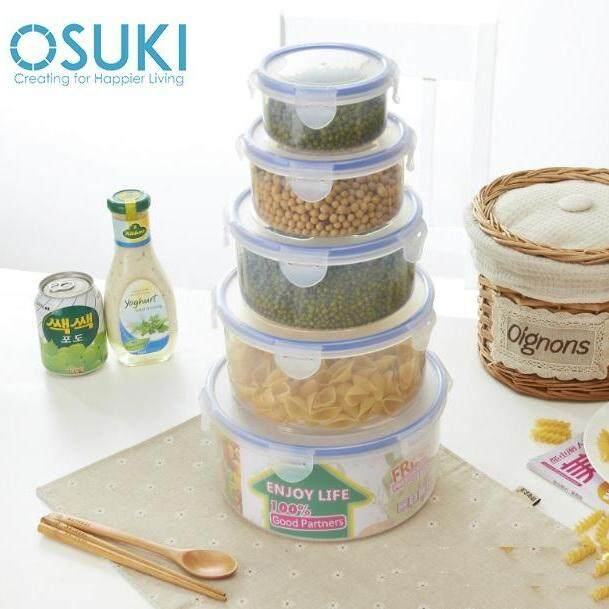 OSUKI 5 in 1 Food Container Storage