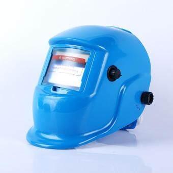 Review of Solar Powered Auto Gelap Helm Las Grinding TIG Masker Las 3 Warna-Intl anggaran terbaik - Hanya Rp166.872