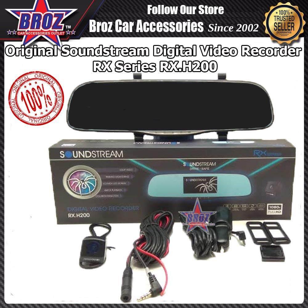 SOUNDSTREAM 1080P HD DUAL CAMERA DRIVING RECORDER RX.H200
