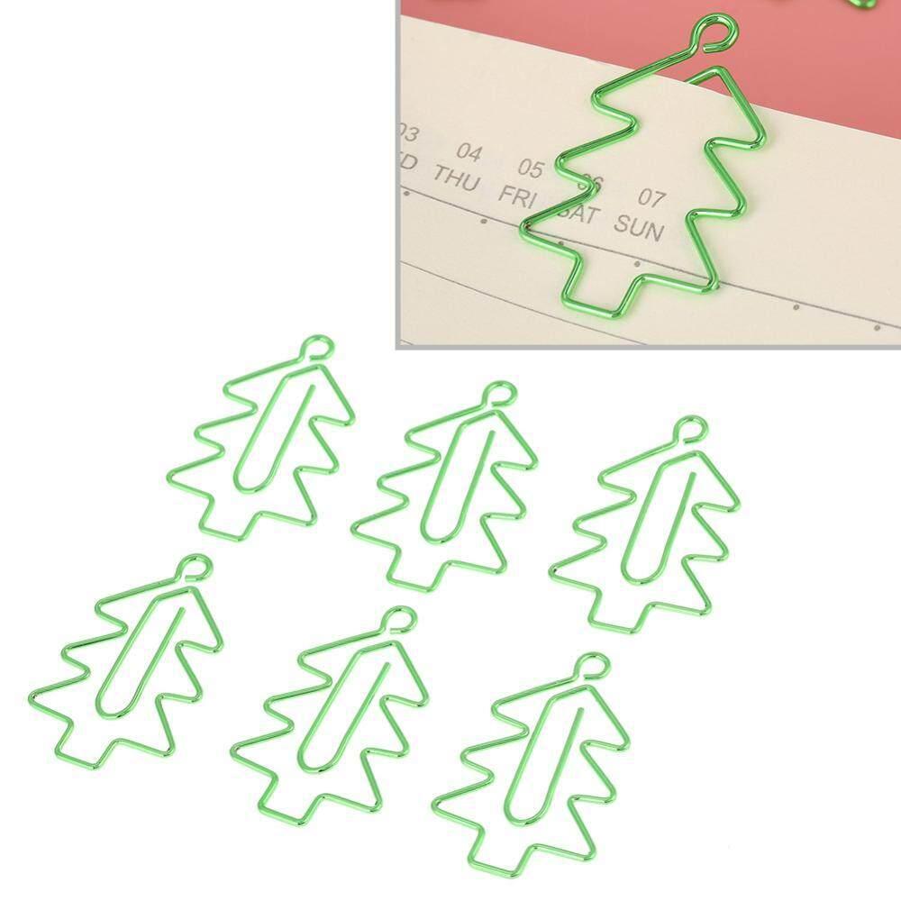 Mua 6 cái Cây Giáng Sinh Hình Kẹp Giấy Bookmark Đánh Dấu Tài Liệu Tổ Chức Văn Phòng Phẩm Vật Dụng-quốc tế