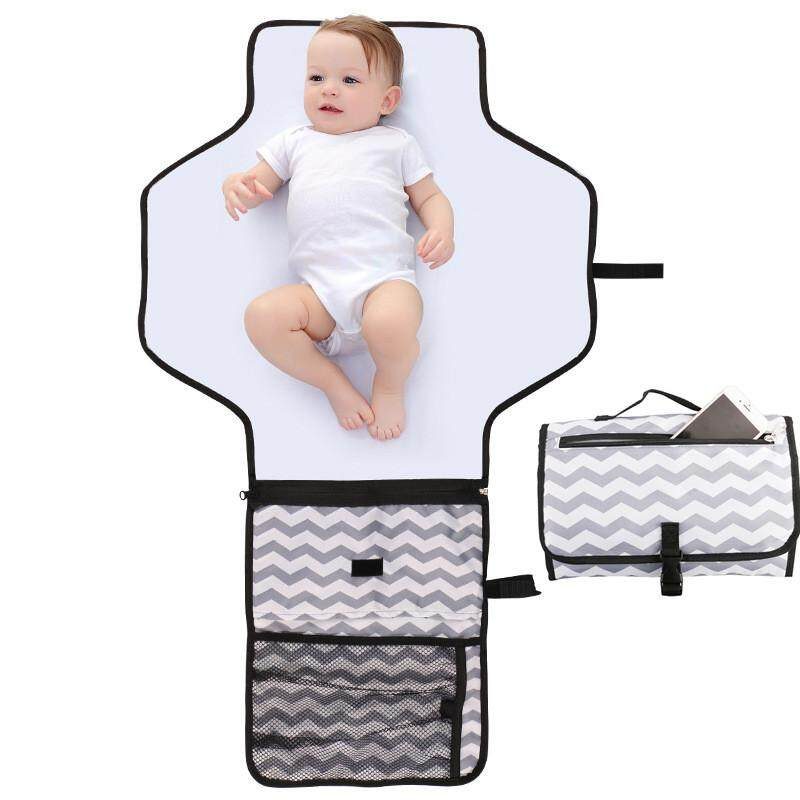 Rovtop Portable Nappy Changing Mat, Waterproof Travel Diaper Changing Pad By Sawu.