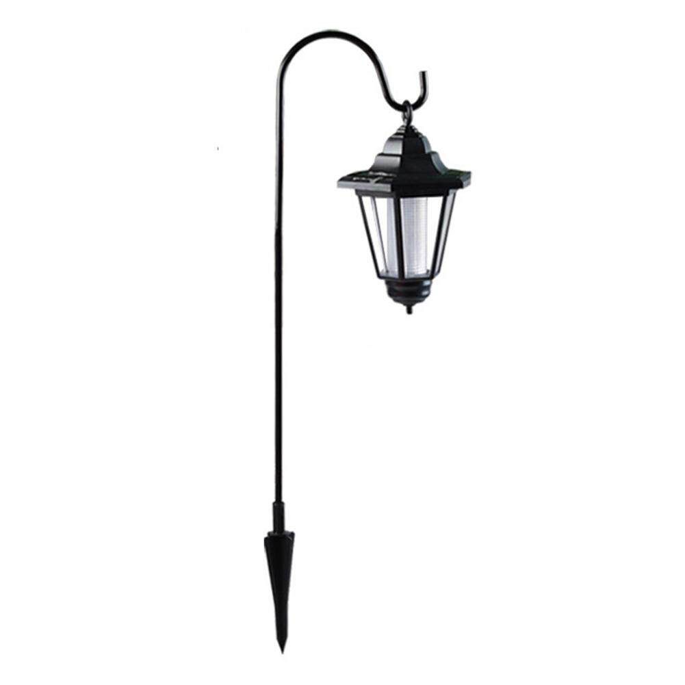 Hanging Solar Shepherd Hook Lights Outdoor Waterproof LED Fairy Lights for Pathways Decorate Garden Porch Yard Tree Fence Bar