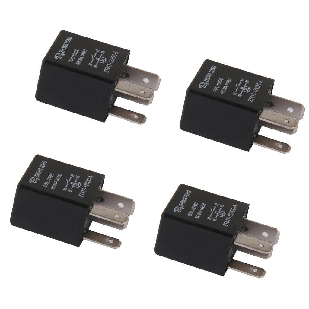 Car Relays For Sale Automotive Online Brands Prices Power Relay Honda Civic Miracle Shining 4 Pieces 12v 30 Amp Pin Spst Alarm Horn