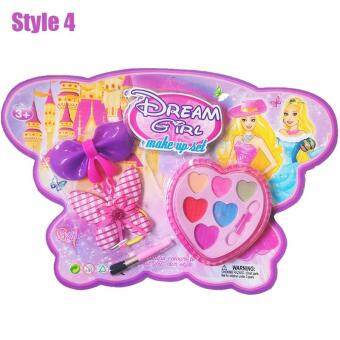 การส่งเสริม Lovely Kids Makeup Beauty Girls Cosmetic Toys Makeup Sets Children DIY Funny Makeup Toy for Gifts ซื้อ - มีเพียง ฿99.46