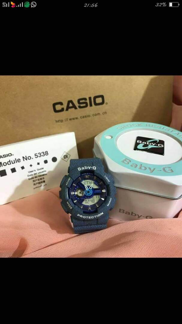 (Last Promotion) Baby G watch for girls, fashion and sports watch