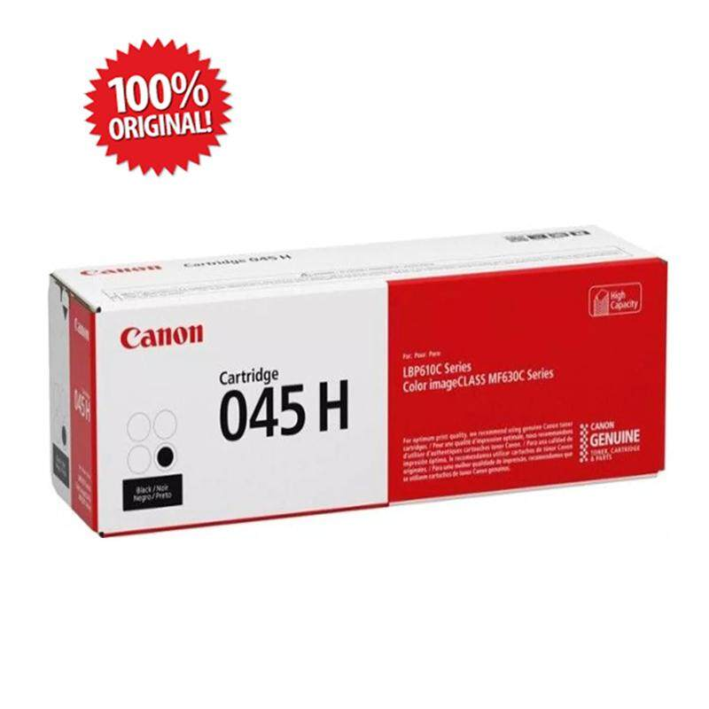 Original CANON CART 045H Cartridge 045H BK Black High Cap 2.8K for imageCLASS MF631Cn/MF633Cdw/MF635Cx