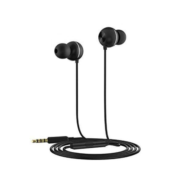 Wired Earphones with Microphone in Ear Earbuds Headphones 3D Surround Sound Noise Cancelling Good for Gaming Watching Movie for iPhone iPod iPad MP3 Samsung Android Smartphone by OAAO - intl