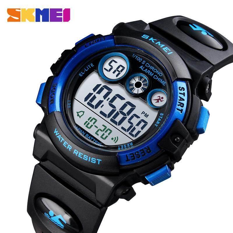 Nơi bán Nhãn hiệu SKMEI Thể Thao đồng hồ đeo tay trẻ em đèn LED chống nước đồng hồ kỹ thuật số Đa Chức Năng đồng hồ thể thao điện tử cho Trẻ Em Quà tặng cho bé trai và bé gái 1451