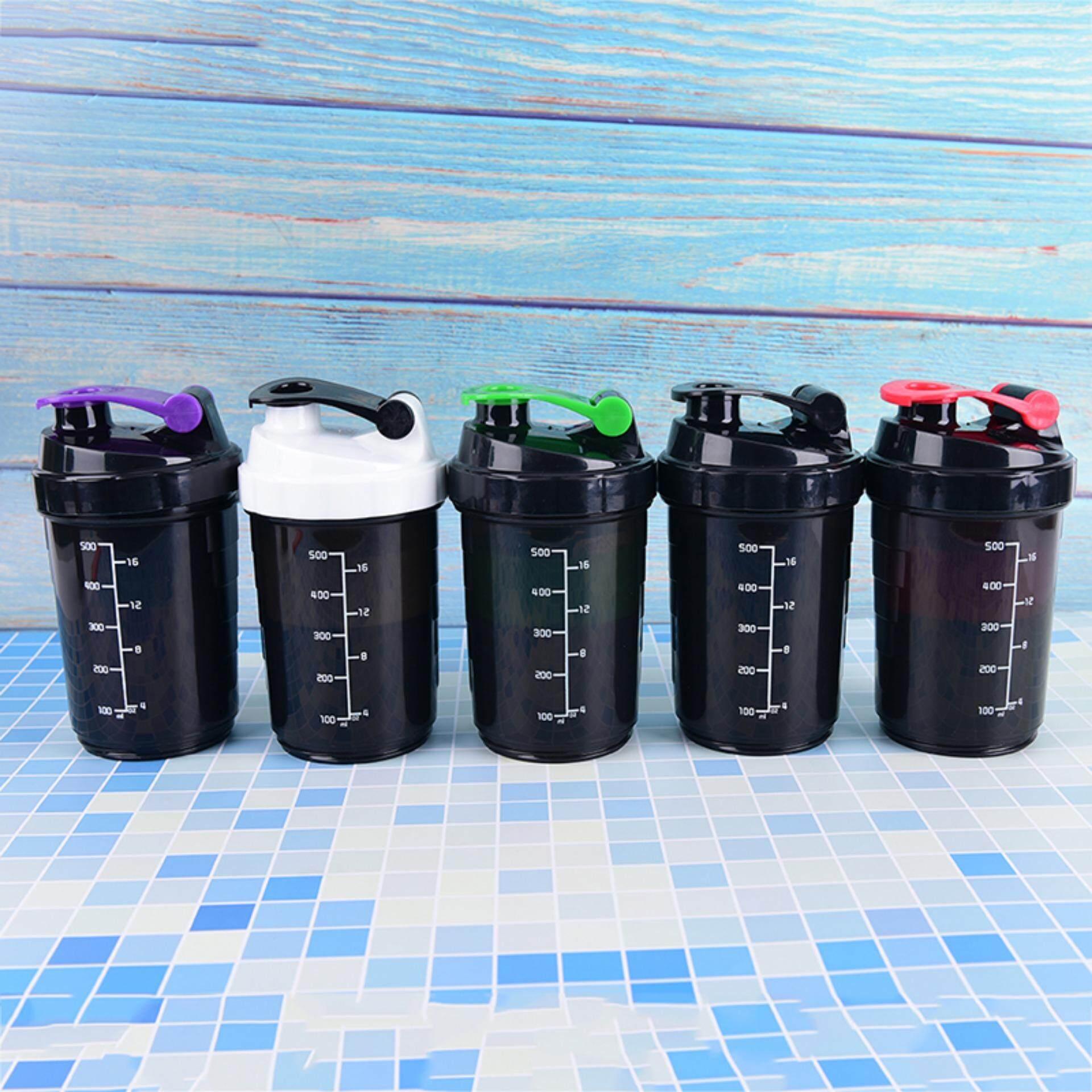 Gambar Produk Protein Powder Shake Bottle Mixing Bottle Fitness Protein Shaker Water Bottle Selengkapnya
