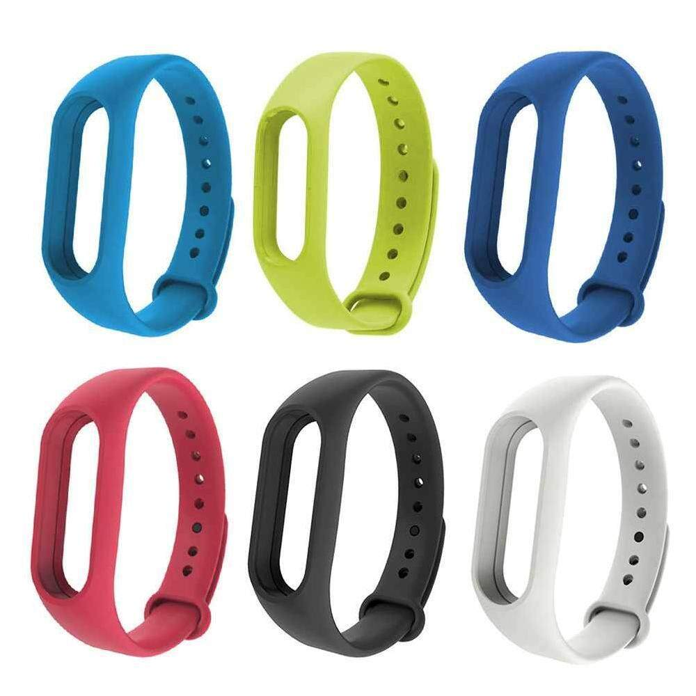 WULI 5PCS For Xiaomi Mi Band 2 Bracelet Strap Mi band 2 Colorful Strap Wristband Replacement