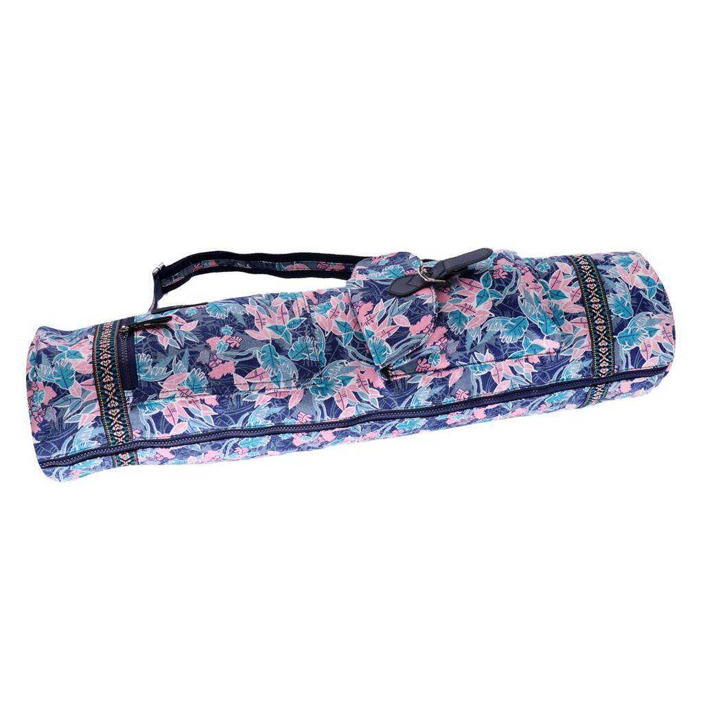 d4fee21656 Miracle Shining Waterproof Yoga Mat Bag Sport Backpack Fitness Carrier Pad  Bag Pink