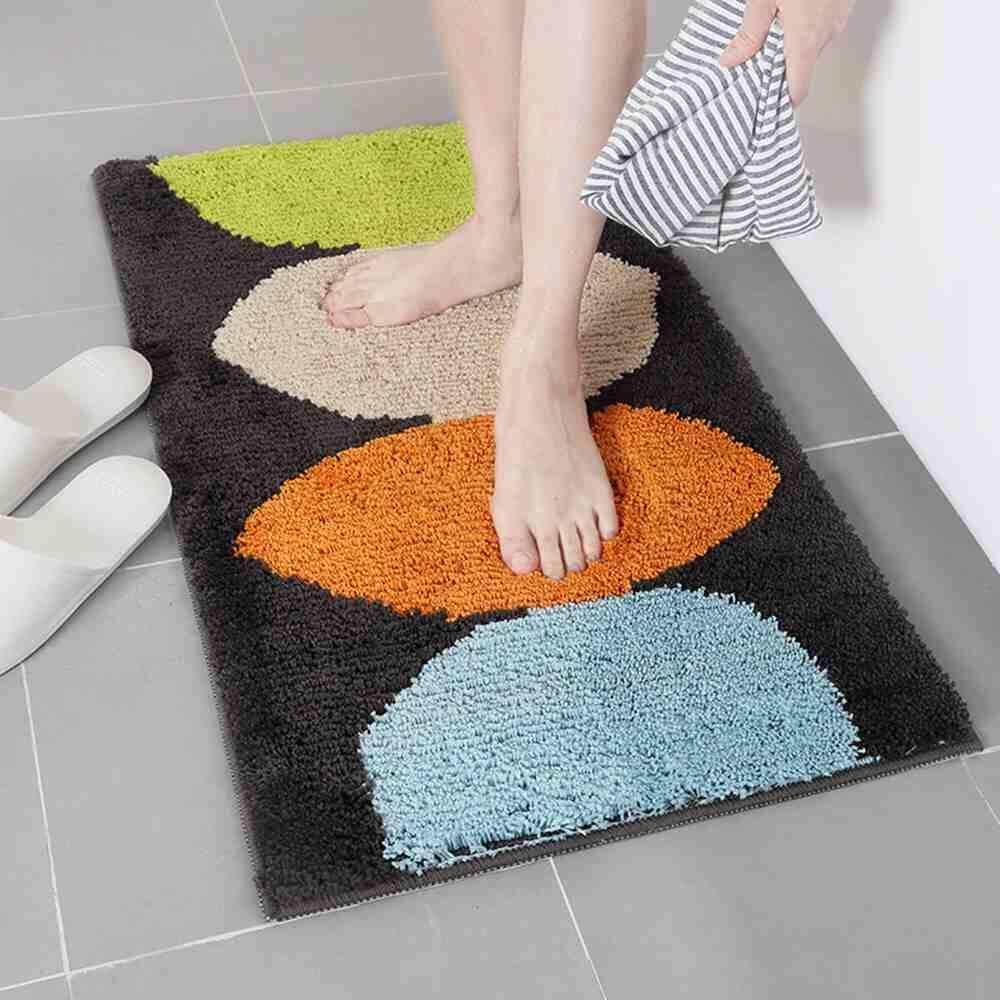 LITAO 3 PCS Floor Mats Bathroom Kitchen Carpets Doormats - intl