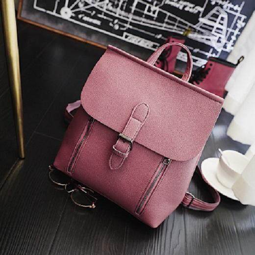[PRE-ORDER] Women Zipped Outing Shopping Backpack