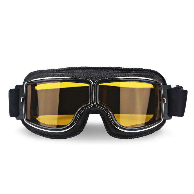 OrzBuy Outdoor riding goggles, karting halei goggles / motorcycle glasses / riding cross-country goggles, retro classic outdoor windproof