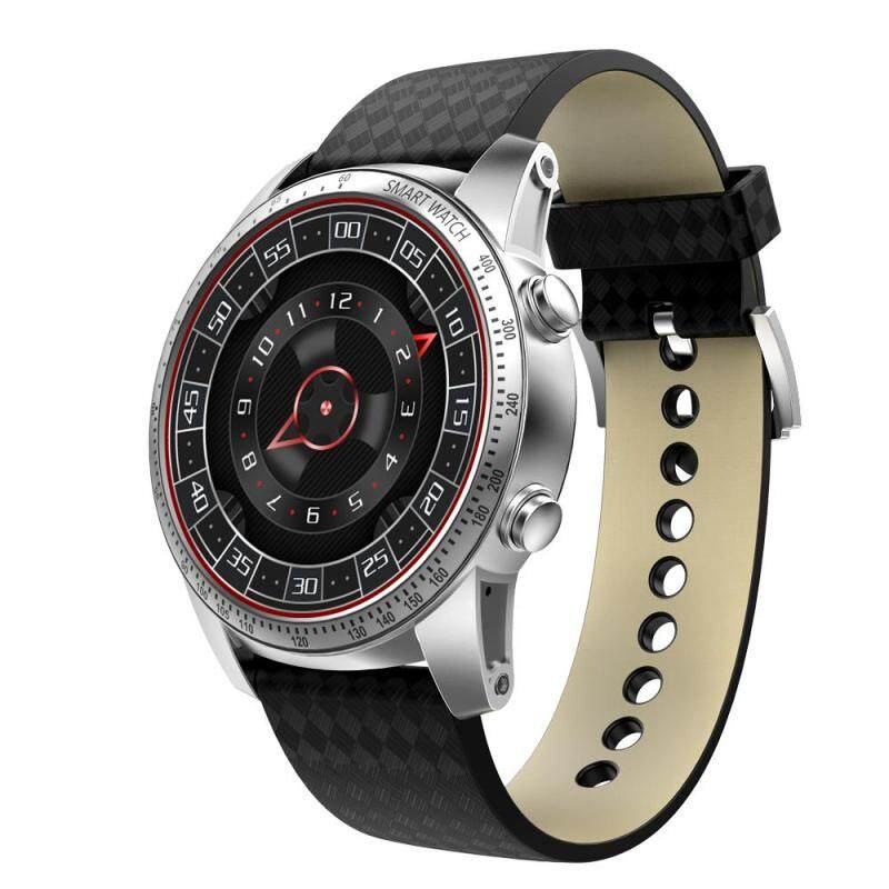 KingWear KingWear KW99 3G Smartwatch Phone Android 5.1 1.39 inch MTK6580 Quad Core 1.3GHz 8GB ROM Heart Rate Monitor GPS Pedometer (Silver) Malaysia