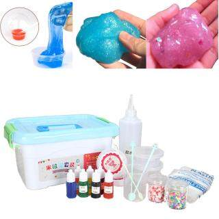 Bộ Slime Phù Hợp, Làm Của Riêng Của Bạn Trẻ Em Gloop Đồ Chơi Tự Làm Cảm Giác, Bữa Tiệc Trò Chơi Khoa Học thumbnail