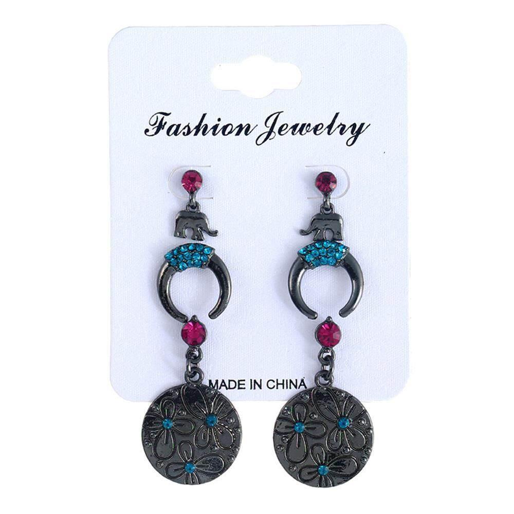 Fashion Beautiful Stylish Jewelry Earrings Black