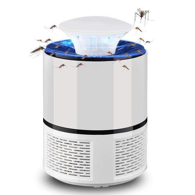 2018 New Smart Led Uv Electric Mosquito Killer Lamp Usb Charge Noiseless White - Intl By Sunnny2015.