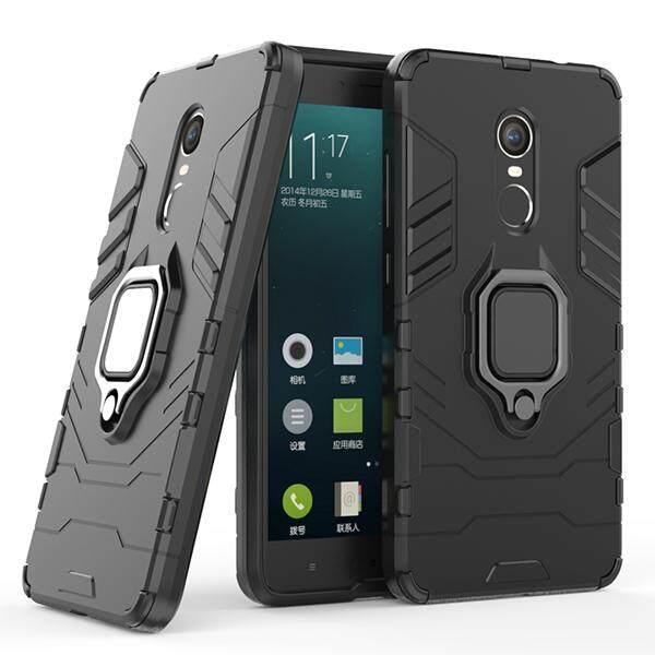 Untuk Redmi Note 4/Redmi Note 4X Sarung Telepon Genggam [Heavy Duty] [Shock-penyerapan] [Kickstand fitur] Dual Layer Armor Defender Seluruh Badan Pelindung Case Cover untuk Redmi Note 4/Redmi Note 4X