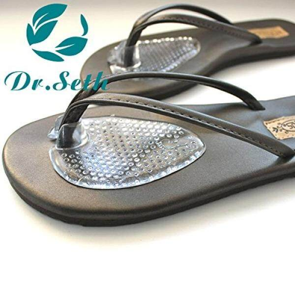 Dr.Seth Silicone Gel Thong Sandal Spreader -Flip-Flop Gel Toe Guards Cushions - 1 Pair / From USA