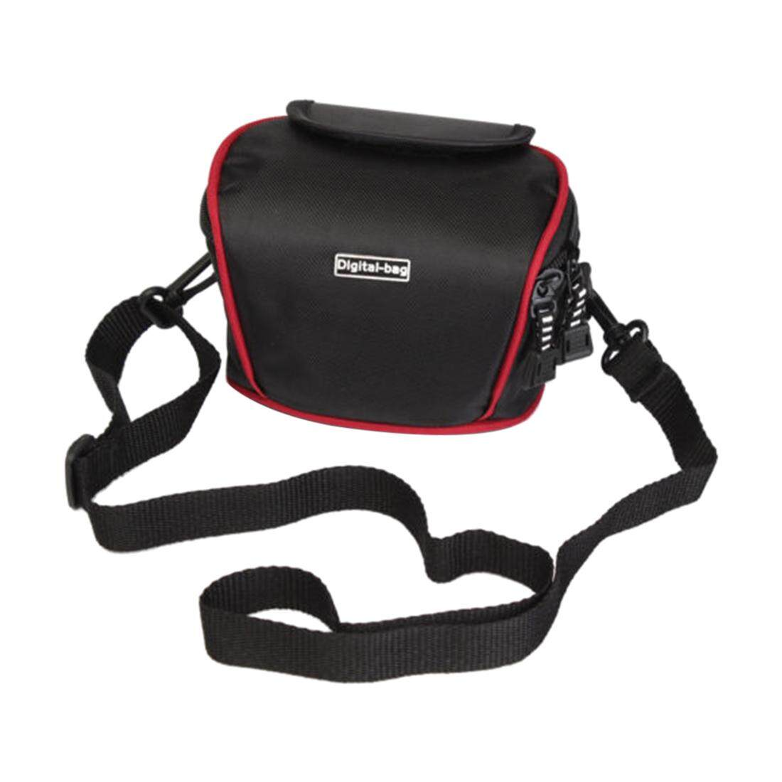 Free Shipping Compact Dslr Camera Case Bag With Strap For Canon Nikon SONY Panasonic Samsung