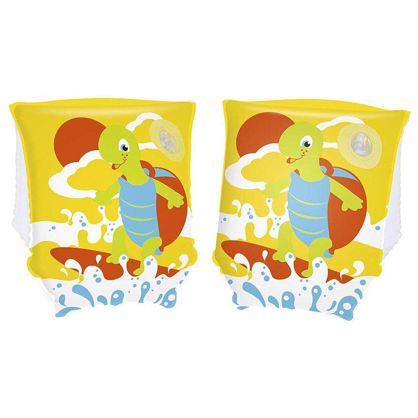Bestway 32043 Turtle Armbands 23cm x 15cm Model Safety Kids Play Swimming Toys