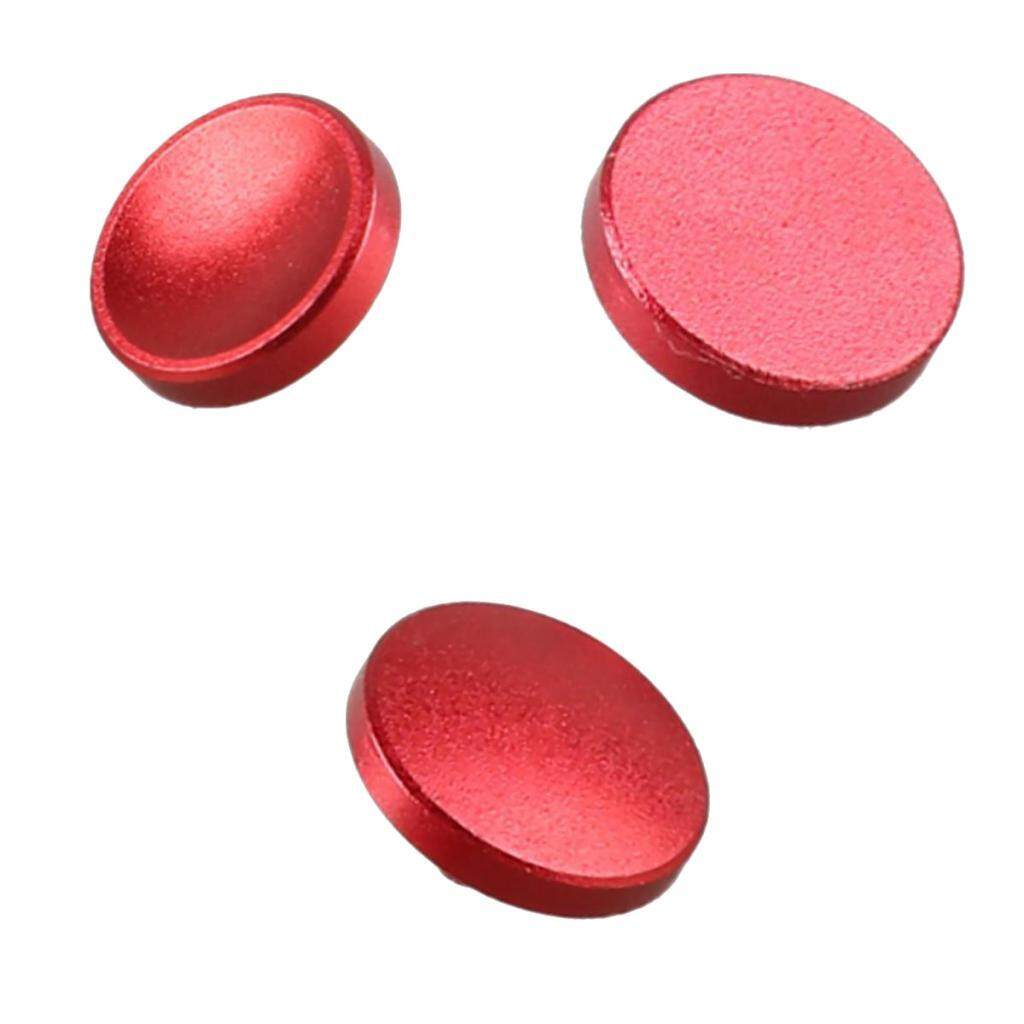 Miracle Shining 3Pcs Shutter Release Button For Leica Fujifilm x100 X10 X-Pro1 X-E1 Red