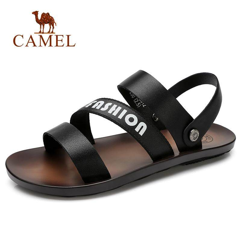 29e526d8ab Camel men's shoes 2018 summer new sandals and slippers Men's trend Korean  casual wild non-