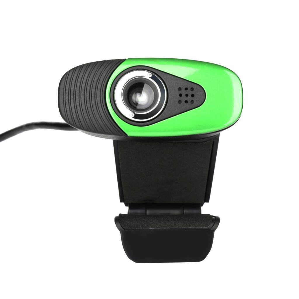 MagiDeal A871 Web Camera USB Webcam Web Cam Desktop Camera With Built-in MIC Green - intl