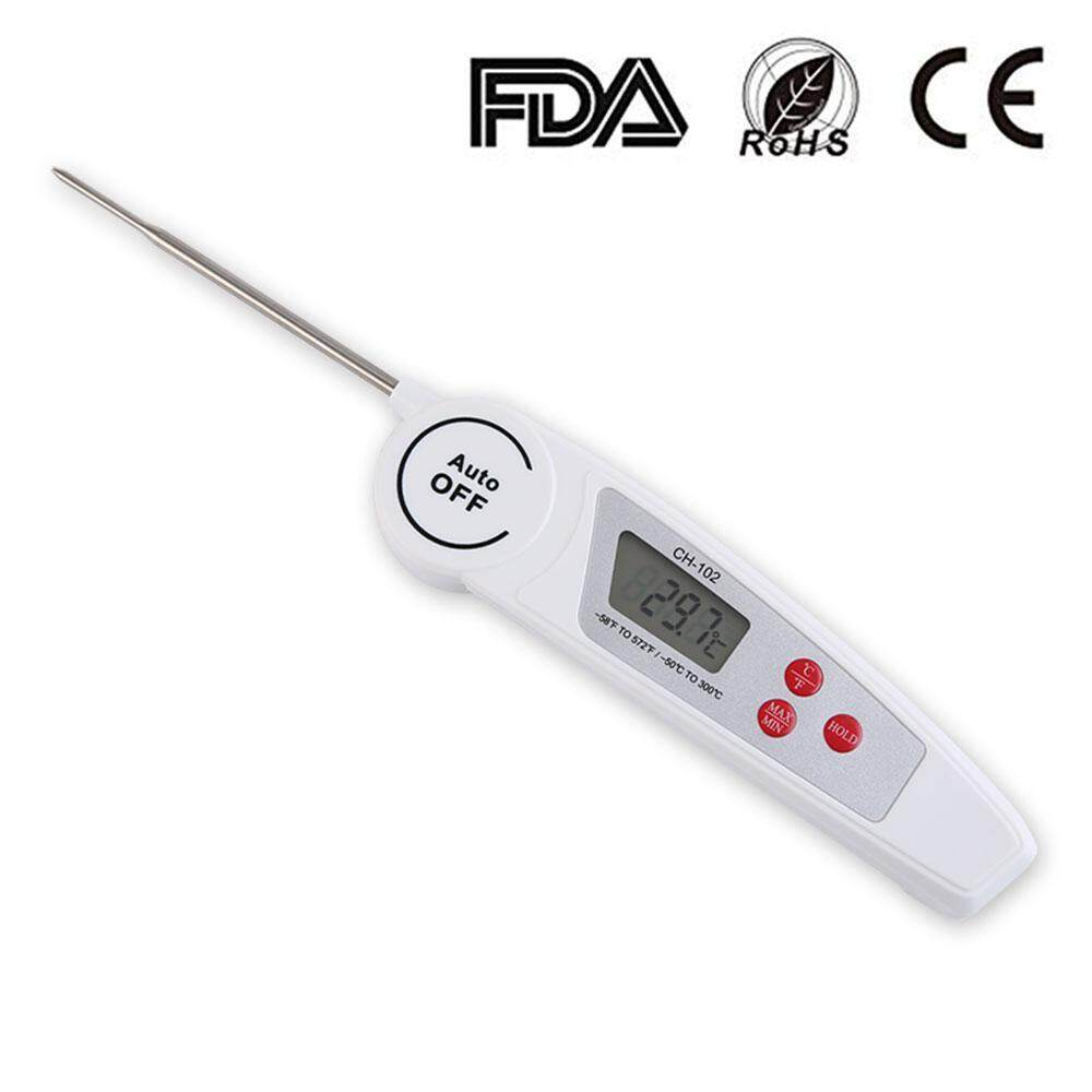 Buy Sell Cheapest Murah Ultra Grill Best Quality Product Deals Maxim 25cm Oxoqo Digital Cooking Thermometer Instant Read Meat Waterproof Fast Food With Long