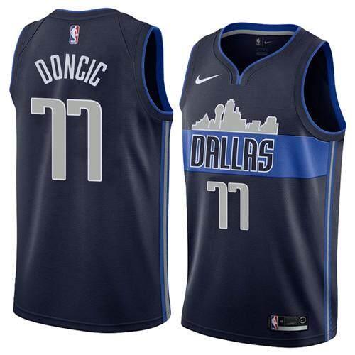 Nike Official MEN Dallas Mavericks Luka Doncic  77 Black Swingman  Basketball Jersey S-2XL 8135dcd151