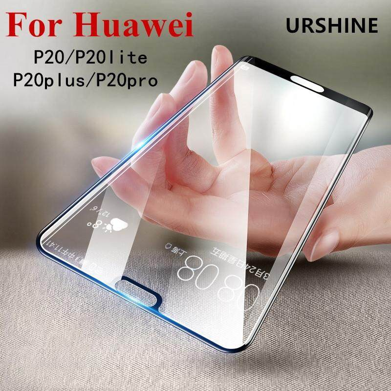 (Black) For Huawei P20 Lite Screen Protector Tempered Glass 3D Curved Edge Full Cover