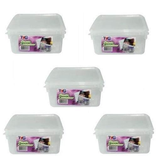 (LZ) 1.5 Lit Toyogo 32 series 81 Diamond Container Set of 5