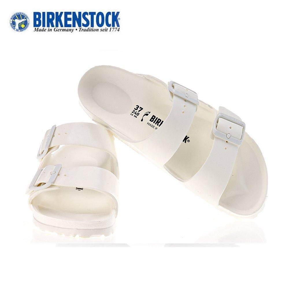Birkenstock Unisex Arizona EVA White (129441/129443) Made in Germany - intl